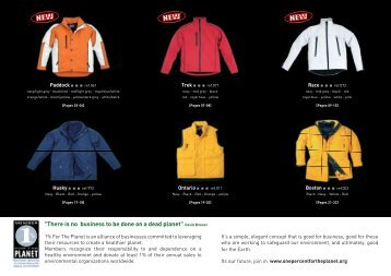 Boost Up Jackets inc. Custom Made Promotional Jackets - JEM ...