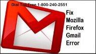 Dial 1-800-240-2551 Fix Mozilla Firefox Gmail Error Code 007