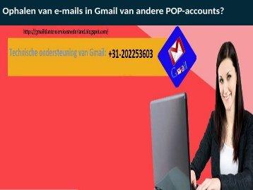 Ophalen van e-mails in Gmail van andere POP-accounts