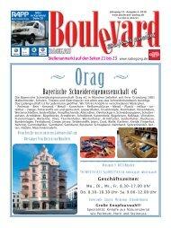 neu Druck Ausgabe Boulevard Dachau 4-2018