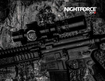 Nightforce Catalog 2018