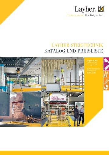 Layher_Steigtechnik_Preisliste 2018