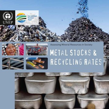 Metal Stocks and Recycling Rates - WEEE Forum