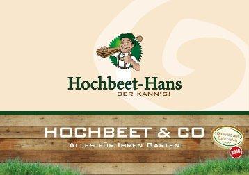 Hochbeete & Co 2018