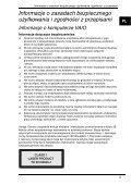 Sony VGN-FW46Z - VGN-FW46Z Documents de garantie Polonais - Page 5