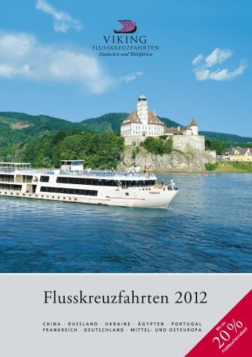 VIKING Flusskreuzfahrten 2012