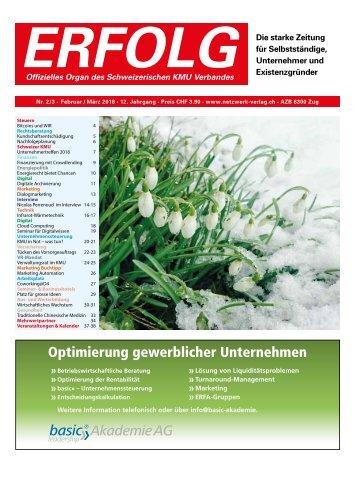 Erfolg_Ausgabe Nr. 2-3 - Feb/Mar 2018