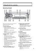 Sony CDX-GT560UI - CDX-GT560UI Mode d'emploi Espagnol - Page 5