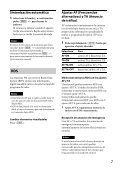 Sony CDX-GT560UI - CDX-GT560UI Mode d'emploi Espagnol - Page 7