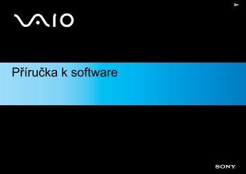 Sony PCG-K315S - PCG-K315S Manuel logiciel Tchèque
