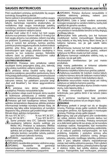 KitchenAid T 16 A1 D/HA - T 16 A1 D/HA LT (F093240) Health and safety