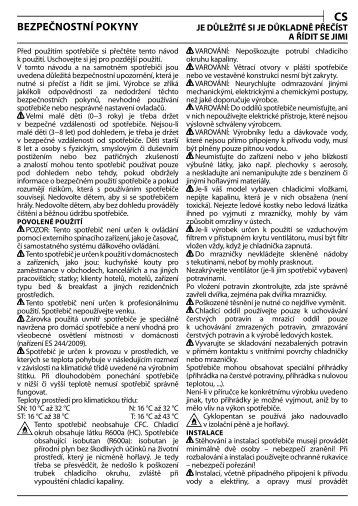 KitchenAid T 16 A1 D/HA - T 16 A1 D/HA CS (F093240) Health and safety