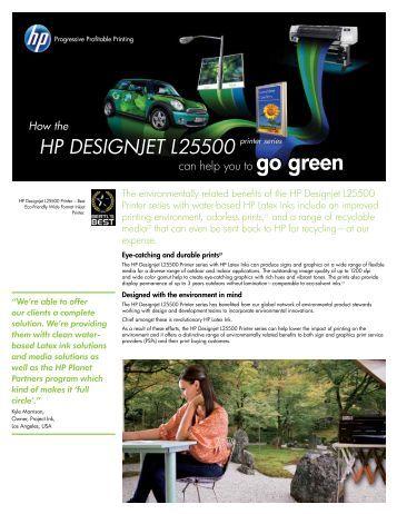 HP DESIGNJET L25500 - Hewlett Packard