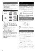 Sony CDX-GT44U - CDX-GT44U Mode d'emploi Serbe - Page 4