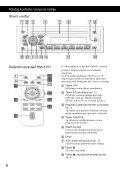 Sony CDX-GT44U - CDX-GT44U Mode d'emploi Serbe - Page 6