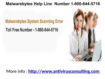 Malwarebytes Help Line  Number 1-800-644-5716