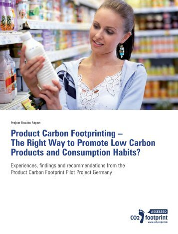 Product Carbon Footprinting – The Right Way to ... - Öko-Institut eV