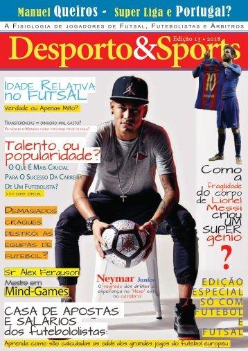 Revista Desporto&Sports ed 13 (versão gratuita)