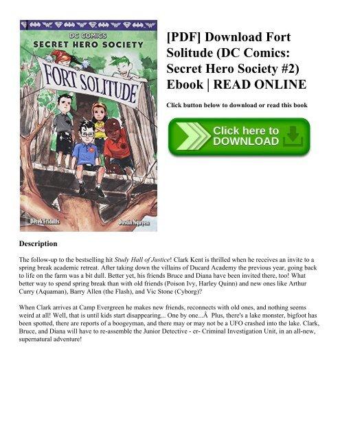PDF] Download Fort Solitude (DC Comics Secret Hero Society
