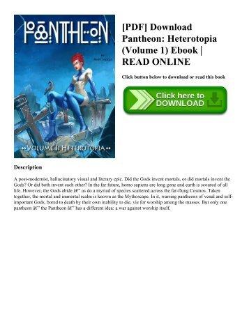 [PDF] Download Pantheon Heterotopia (Volume 1) Ebook  READ ONLINE