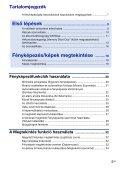 Sony DSC-W270 - DSC-W270 Consignes d'utilisation Hongrois - Page 5