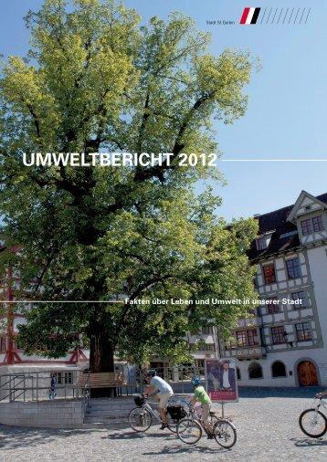 Umweltbericht 2012 (4829 kb, PDF) - Stadt St.Gallen - Kanton St ...