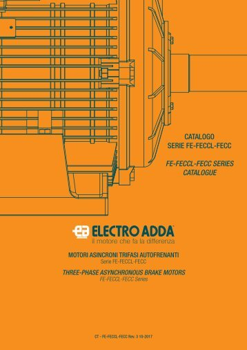 2-THREE-PHASE ASYNCHRONOUS BRAKE MOTORS-FE-FECCL-FECC-series-rev03-10-2017-IE