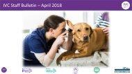 Staff Bulletin - April