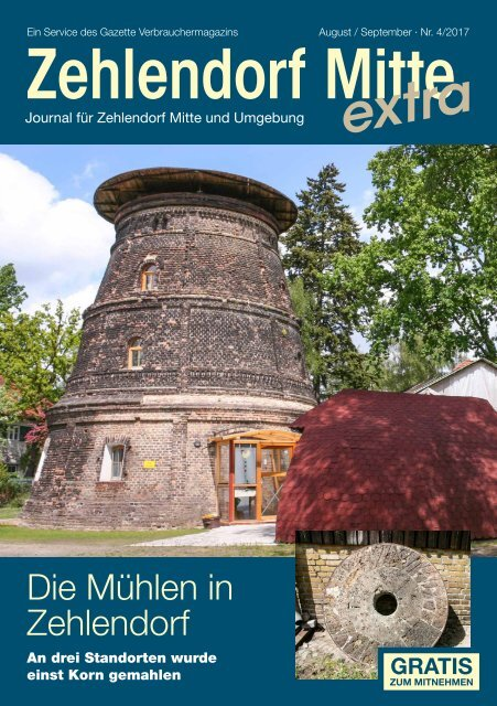 Zehlendorf Mitte extra AUG/SEP 2017