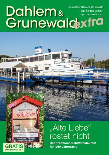 Dahlem & Grunewald extra AUG/SEP 2017