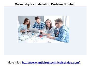 Malwarebytes Installation Problem Number