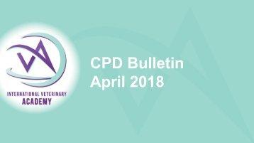 CPD Bulletin April 2018