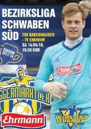 20180414 Fuggermärktler TSV 1862 Babenhausen – TV Erkheim