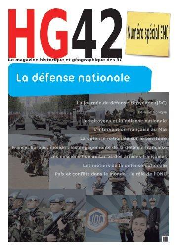 3EMC2 - La défense et la paix - magazine