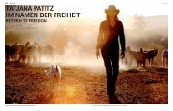 tatjana patitz im namen der freiheit return to freedom - Florian Wagner