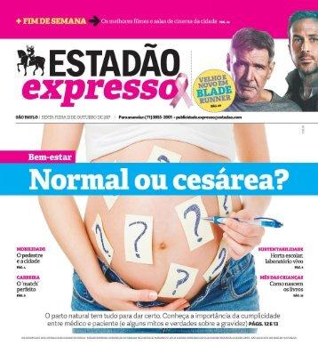 Estadão Expresso - Edição de 13.10.2017