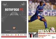 PRESS KIT: Botafogo x Bragantino - Camp. Brasileiro Série C - 14/04/2018