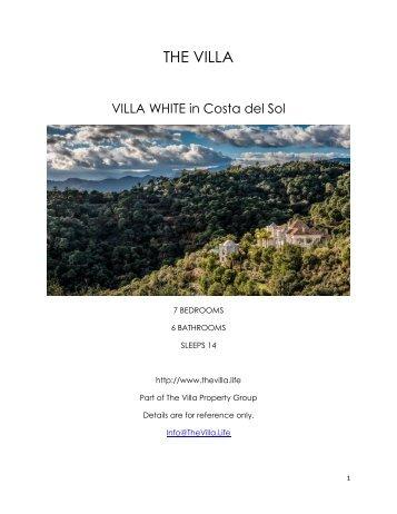 Villa White - Costa del Sol