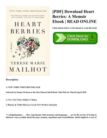 [PDF] Download Heart Berries A Memoir Ebook  READ ONLINE