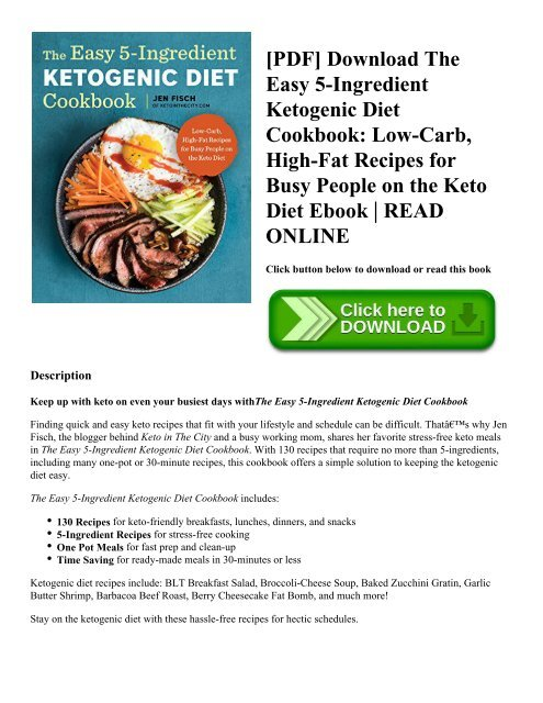 what is ketogenic diet pdf