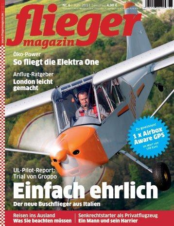UL-Pilot-Report: Trial von Groppo - X-RAY Flugsportzentrum Leipzig