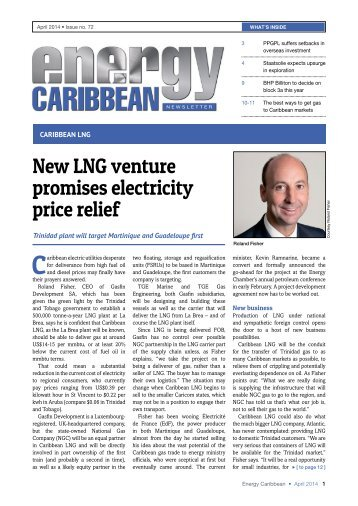 ENERGY Caribbean magazine (April 2014 • Issue no. 72)