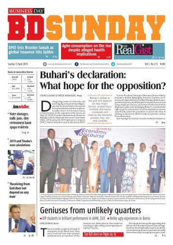 BusinessDay 15 April 2018