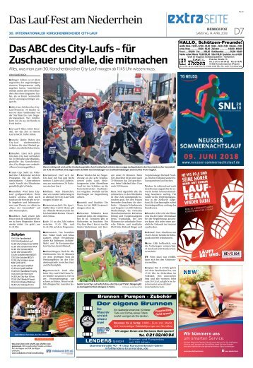 Das Lauf-Fest am Niederrhein  -14.04.2018-