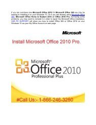 How to install Office 2010 on Windows 10