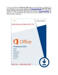 How to install Office 2013 on Windows 10