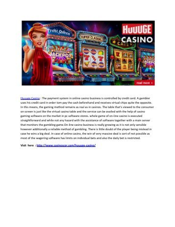 Grab The Chance of Earning Extra Bonus Points with Huuuge Casino