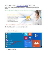 Microsoft Outlook has stopped working 2010