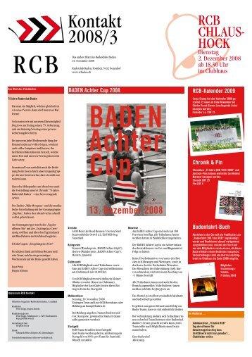 Ausgabe 03/2008 - Ruderclub Baden