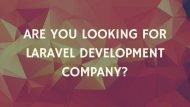 Laravel Development Company – Protonbits